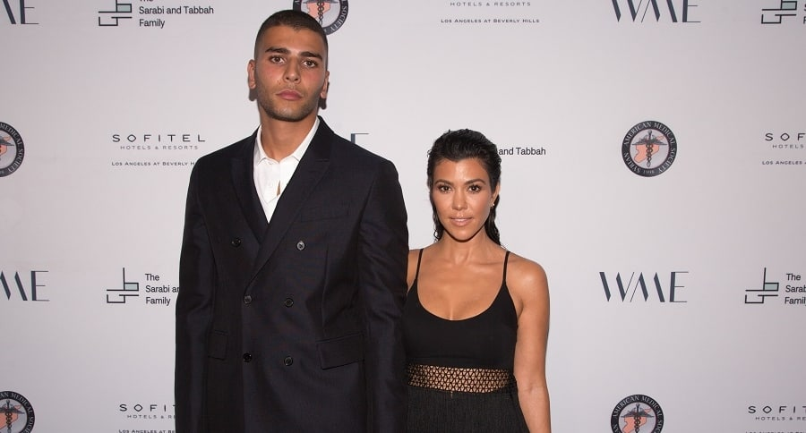 Younes Benjima y Kourney Kardashian