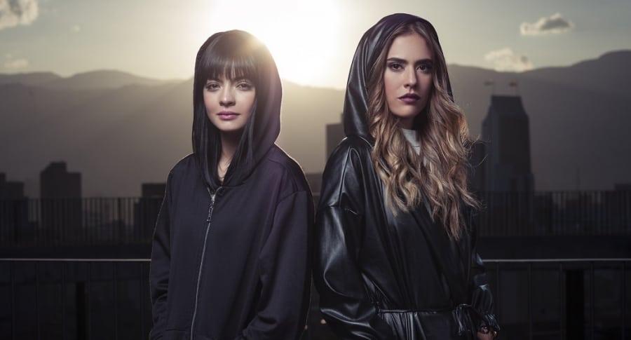 'Majo' Vargas y Carolina Ramírez, actrices.