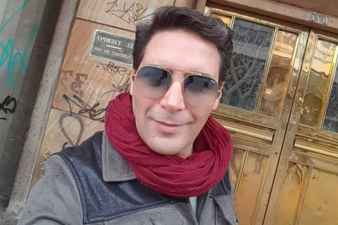 Agmeth Escaf, actor y presentador.