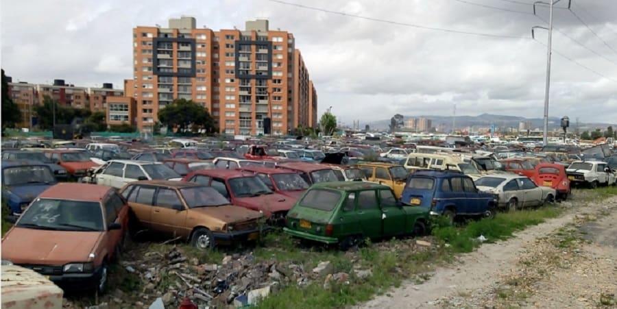 Vehículos abandonados