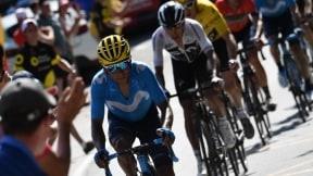 Nairo Quintana por delante de Egan Bernal en la etapa 12 del Tour