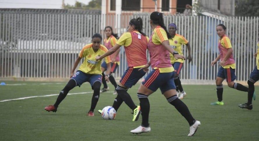 Entrenamiento Selección Colombia Femenia