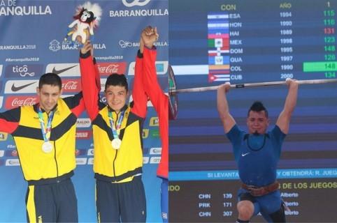 Primeras medallas para Colombia
