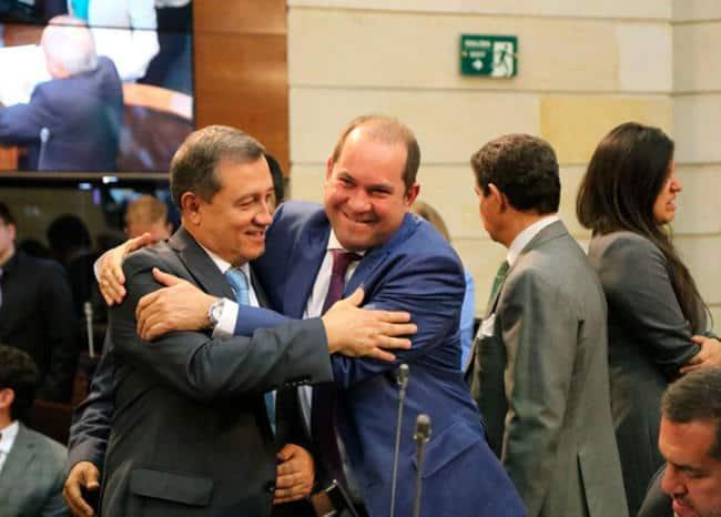 Ernesto Macías, nuevo presidente del Senado