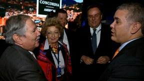 Duque anuncia a presidente de gremio de comerciantes como ministro de Defensa