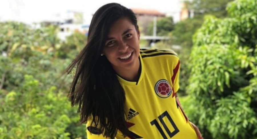 Yoreli Rincón, futbolista colombiana.