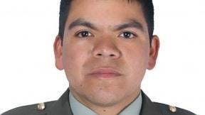 Fabián Sierra Mendoza, subintendente de carabineros en Barranquilla.