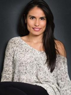 Carolina Paladinez, actriz colombiana.