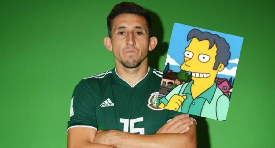Memes a futbolista mexicano por cirugía en la cara.