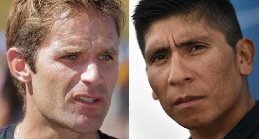 Santiago Botero y Nairo Quintana