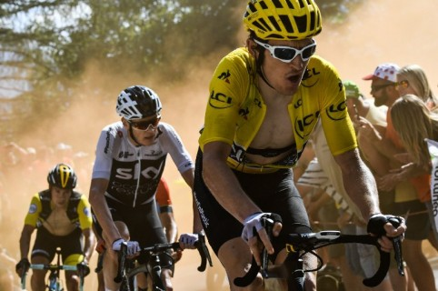 Christopher Froome y Geraint Thomas