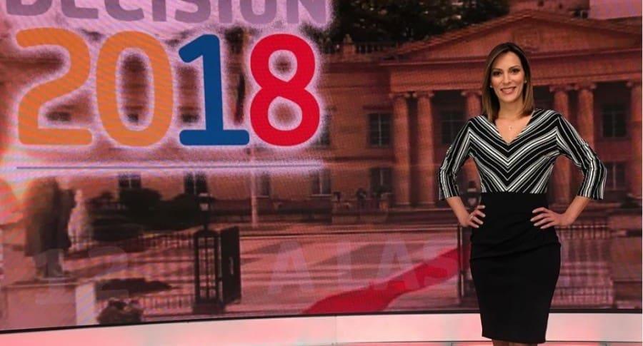 Yalena Jácome, presentadora.