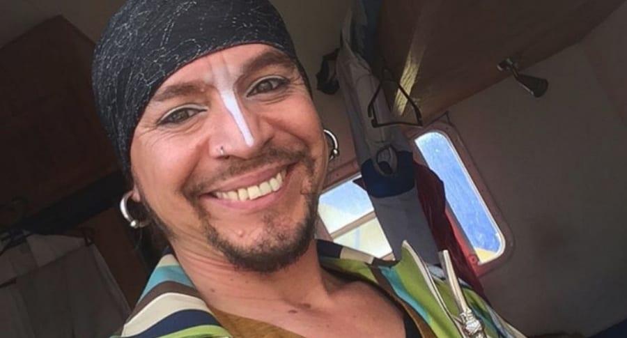 Jaime Almarza Quezada, conocido por ser el ''Hombre bala'.