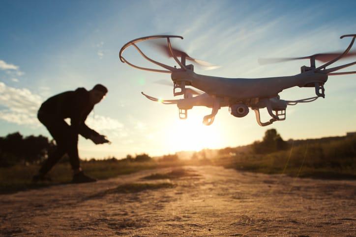 Fotografía con drone