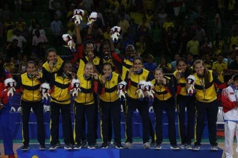 Baloncesto femenino - Centroamericanos