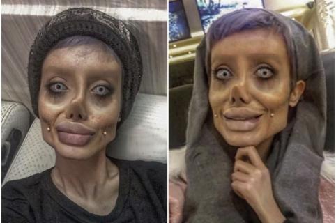 'Angelina Jolie zombi'.
