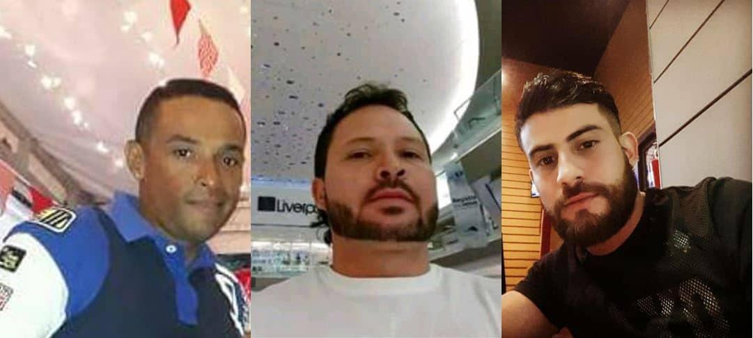 Adrián López, Rafael Muñoz  y Brian Ortegón