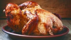 Pollo asado.