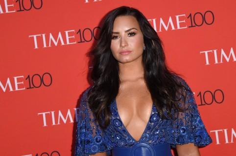 Demi Lovato, cantante.