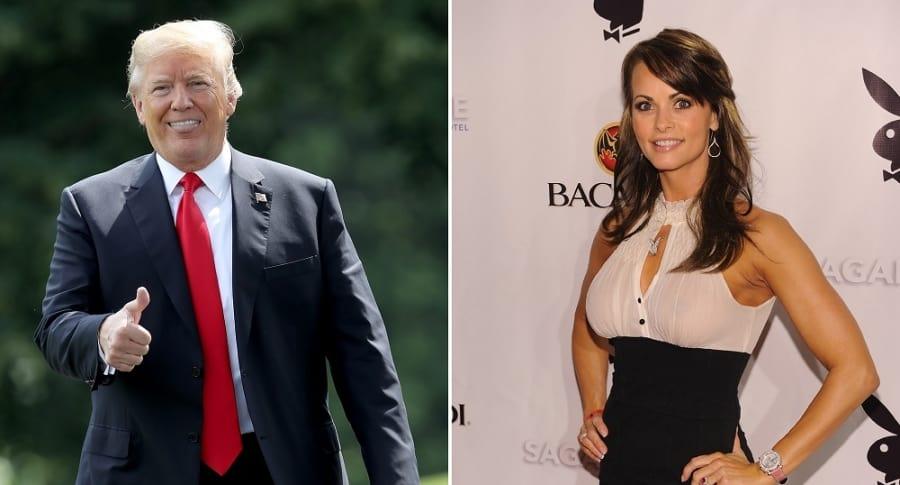 Donald Trump y Karen McDougal