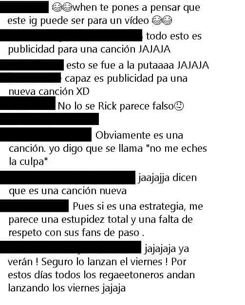 Comentarios Manuel Turizo publicidad