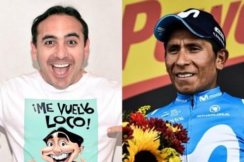 Mario Sabato y Nairo Quintana