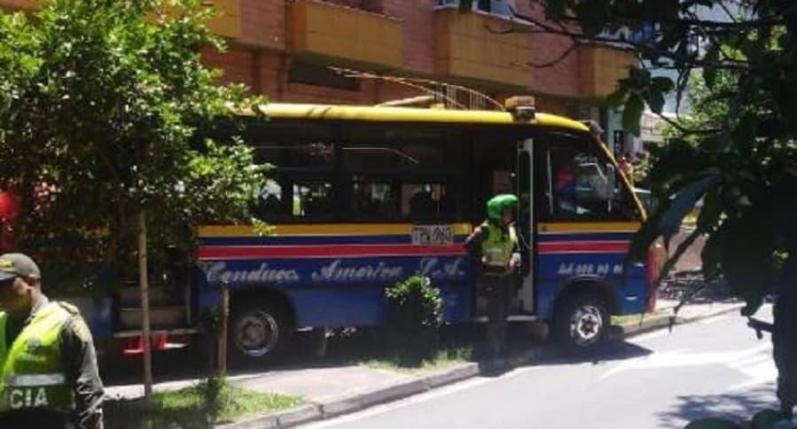 Conductor asesinado en Medellín