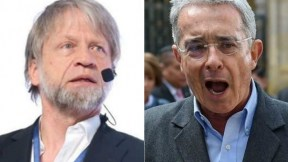 Antanas Mockus y Álvaro Uribe