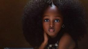 Niña nigeriana.