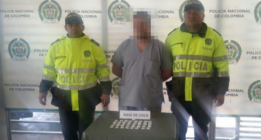 Camillero capturado por tráfico y venta de estupefacientes en hospital de Bogotá