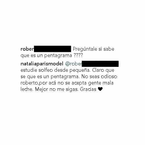 Comentario Natalia París