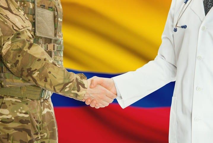 Soldado en Colombia