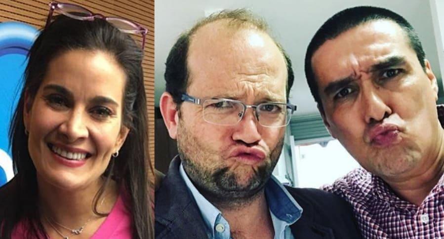 Vanessa de la Torre, Daniel Samper y 'Matador'