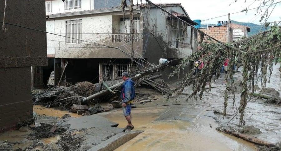 Emergencia en San Gil