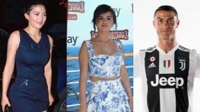 Kylie Jenner Selena Gómez y Cristiano Ronaldo