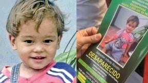 niño secuestrado
