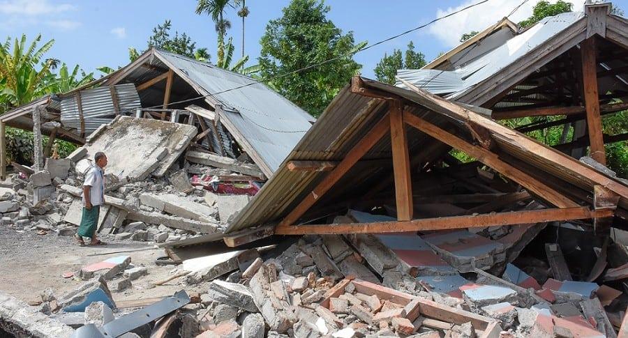 Terremoto en Indonesia.