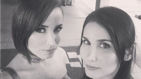 Majida y Jordana Issa, actrices y hermanas.
