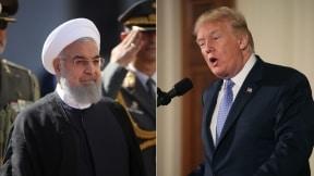 Hassan Rouhani y Donald Trump
