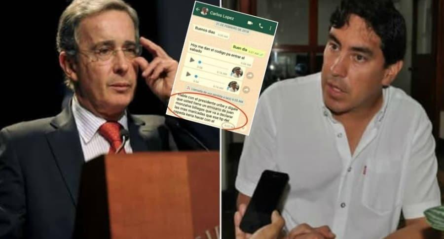 Chats del caso Uribe