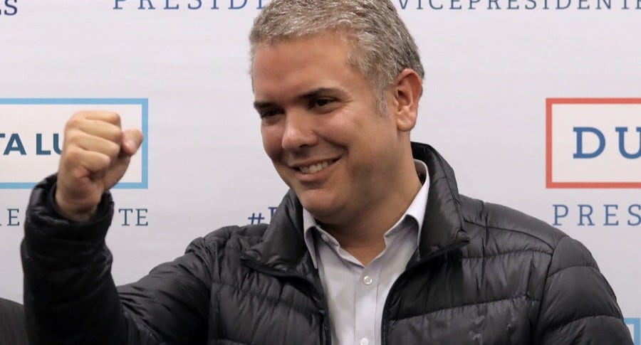 Iván Duque, presidente.