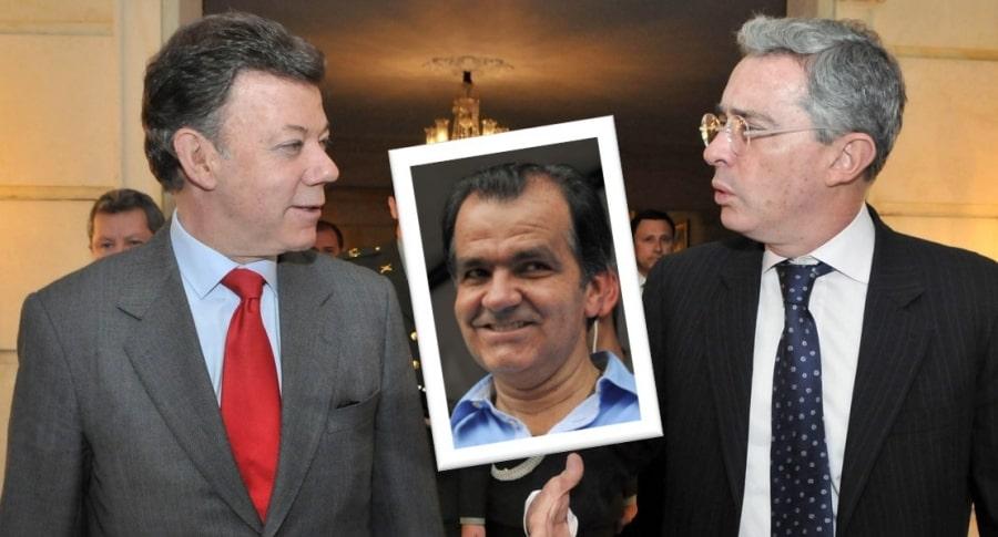 Zuluaga, Uribe y Santos