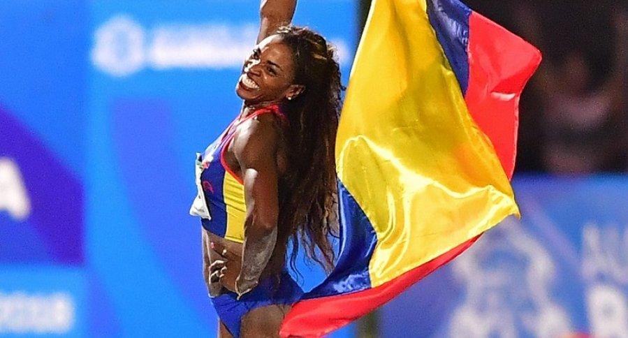 Caterine Ibargüen en Barranquilla 2018