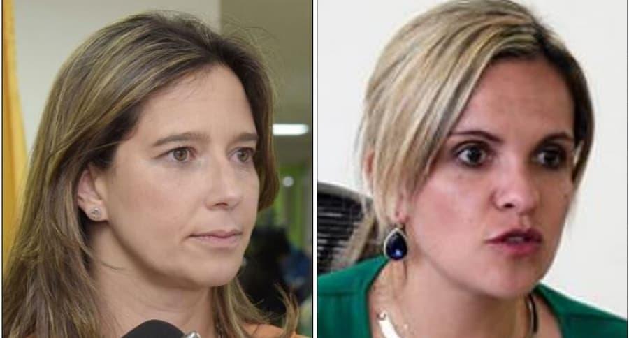 Cristina Plazas y María Andrea Nieto