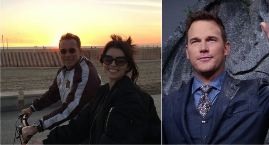 Katherine Schwarzenegger y Chris Pratt