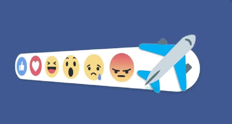 Reacción avión