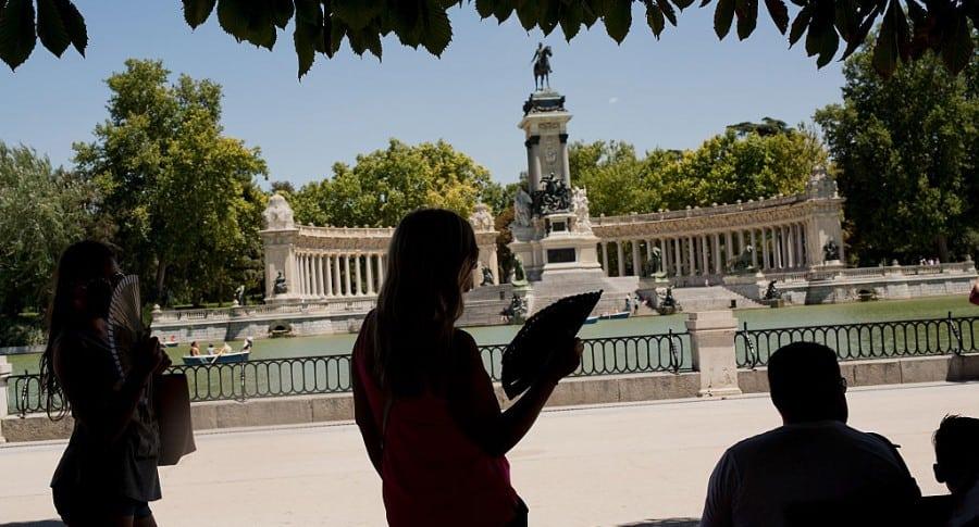 Verano en Madrid, España