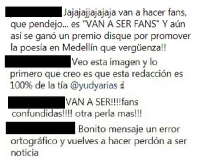 Comentarios publicación de Maluma