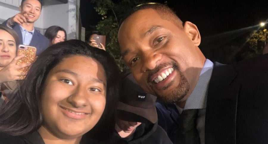 Mexicana viral y Will Smith