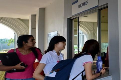 Estudiantes en universidad de Holanda